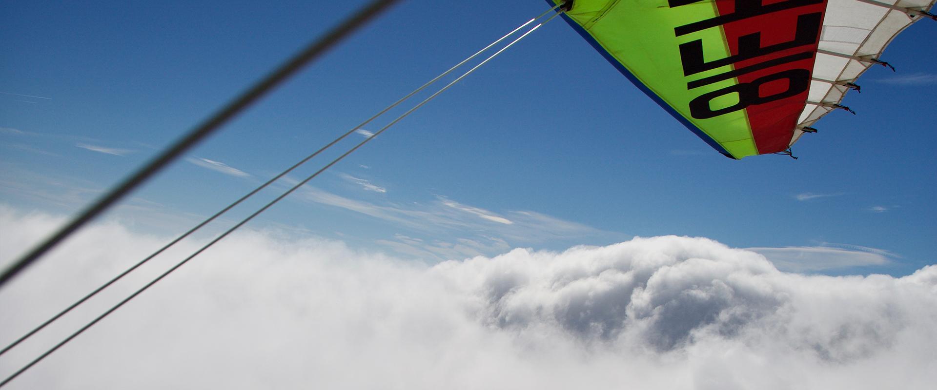 Vol au dessus des Nuages